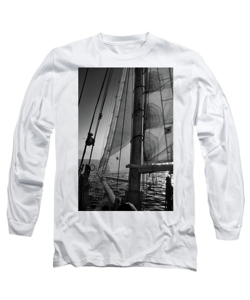 Evening Sail Bw Long Sleeve T-Shirt