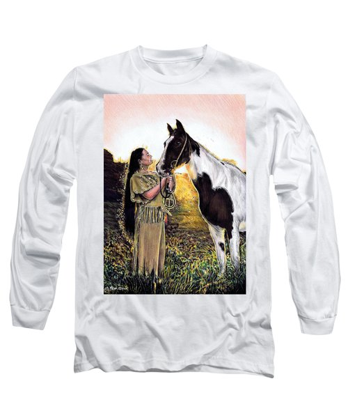 Everlasting Love A Maiden And Spot Long Sleeve T-Shirt