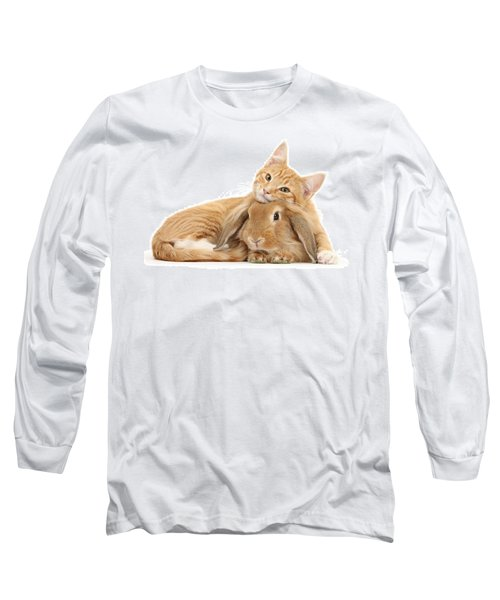 Everybody Needs A Bunny For A Pillow Long Sleeve T-Shirt