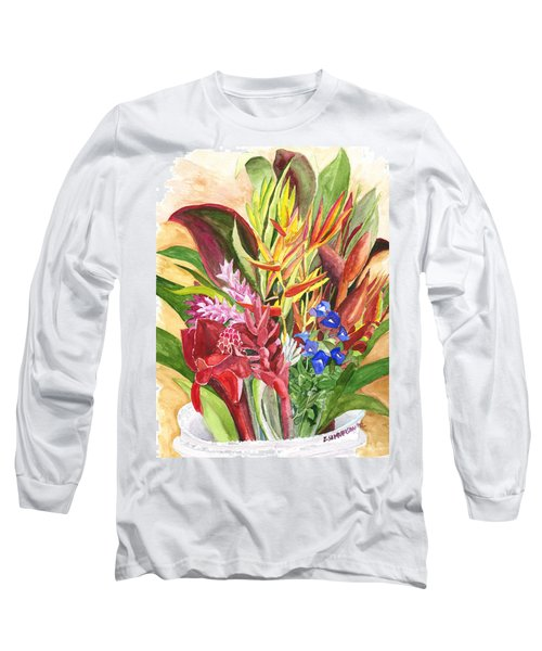 Everywhere There Were Flowers Long Sleeve T-Shirt