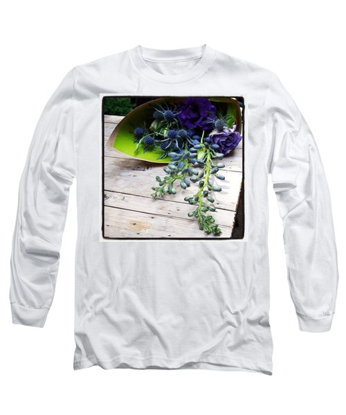 Long Sleeve T-Shirt featuring the photograph Excellent Customer Service. #flowers by Mr Photojimsf
