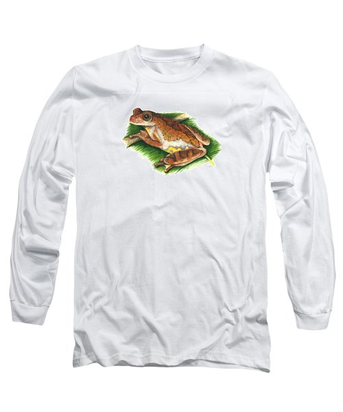 Executioner Treefrog Long Sleeve T-Shirt by Cindy Hitchcock