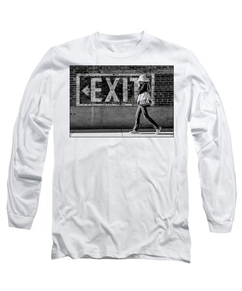 Exit Bw Long Sleeve T-Shirt