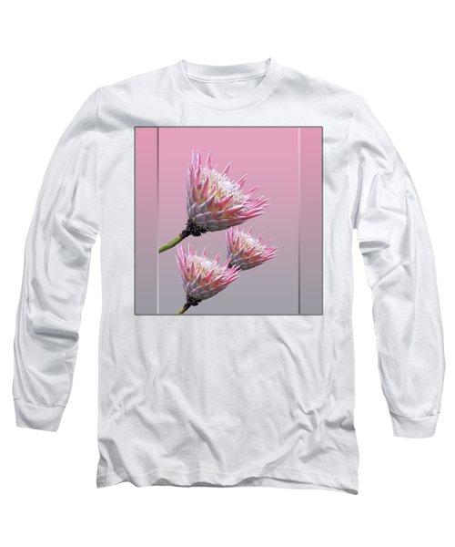 Exotic King Protea Long Sleeve T-Shirt