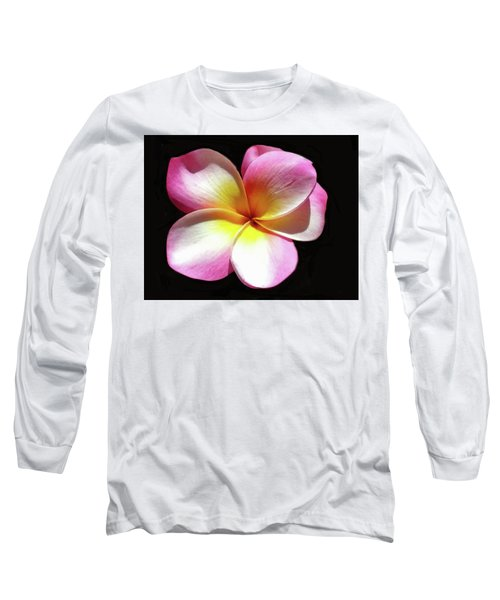 Exotic Plumeria Long Sleeve T-Shirt