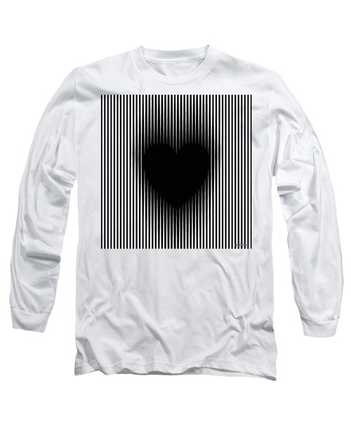 Expanding Heart Long Sleeve T-Shirt