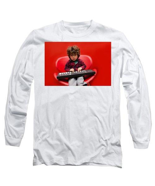 Exploring Piano Long Sleeve T-Shirt