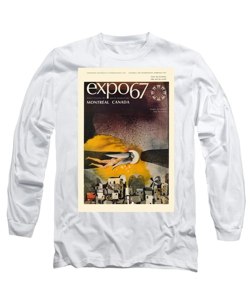 Expo 67 Long Sleeve T-Shirt by Andrew Fare