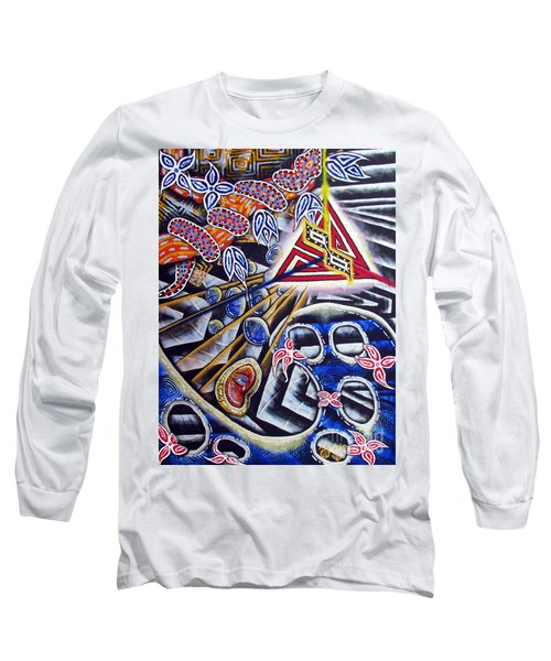 Expulsion Long Sleeve T-Shirt by Luke Galutia
