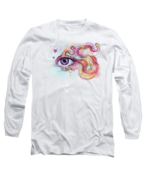 Eye Fish Surreal Betta Long Sleeve T-Shirt