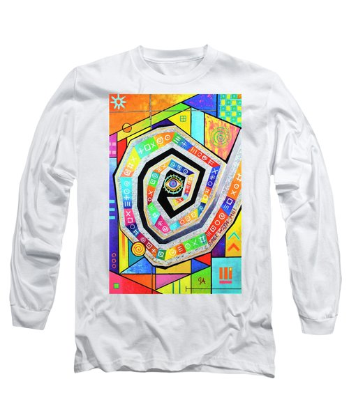 Eye Of The Storm Long Sleeve T-Shirt by Jeremy Aiyadurai