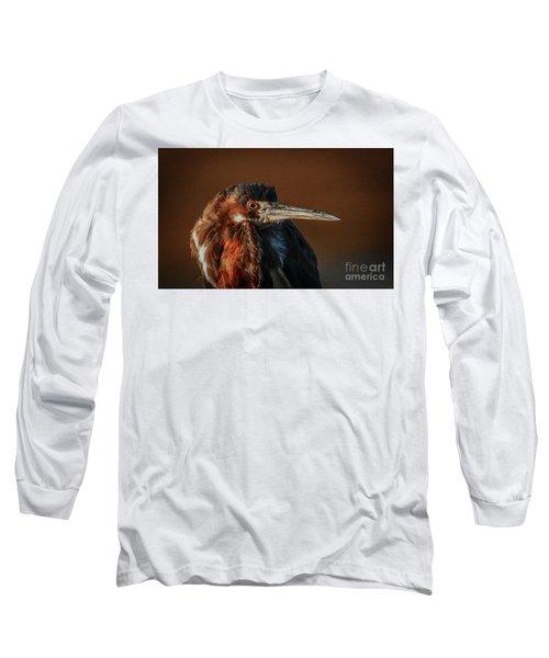 Eye To Eye With Heron Long Sleeve T-Shirt