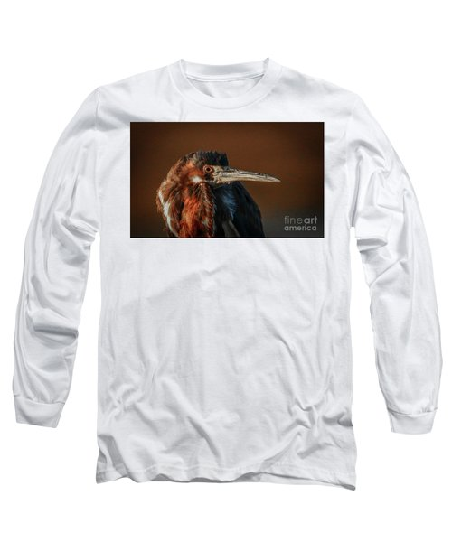 Eye To Eye With Heron Long Sleeve T-Shirt