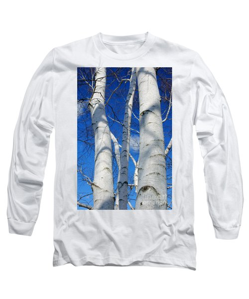 Eyes Of Birch Long Sleeve T-Shirt