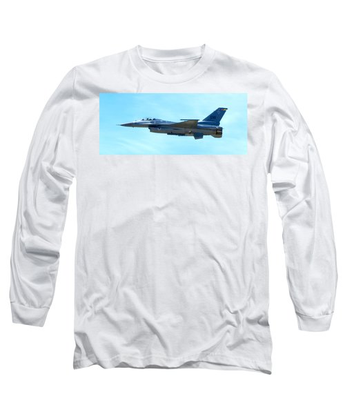 F16 Long Sleeve T-Shirt by Greg Fortier