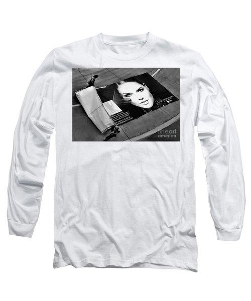 Face On The Floor Long Sleeve T-Shirt