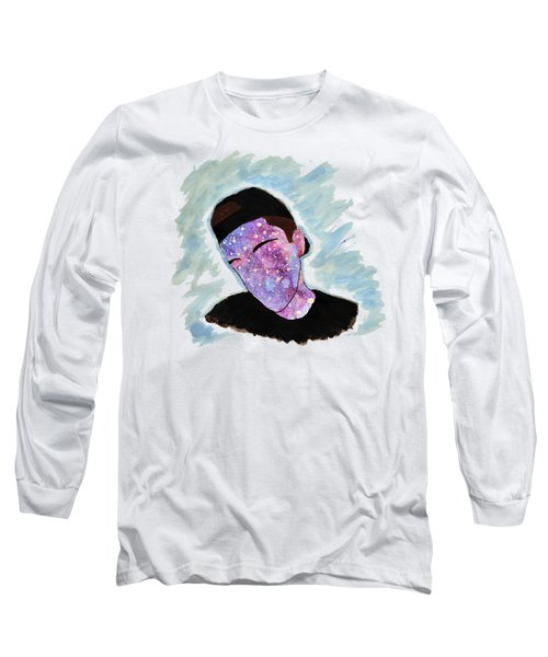 Faceless Teen Long Sleeve T-Shirt by Lucy Frost