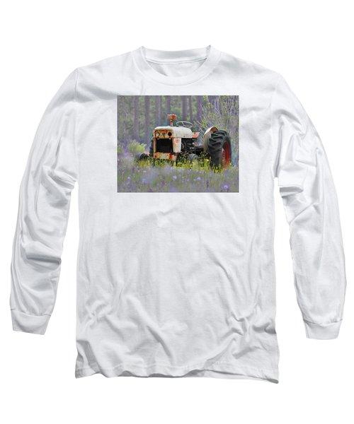 Fading Fast Long Sleeve T-Shirt by Laura Ragland