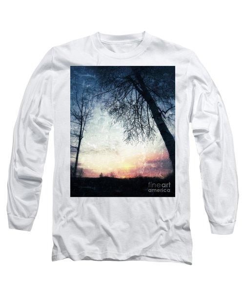 Fading Sunset Long Sleeve T-Shirt by Jason Nicholas