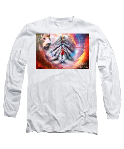 Long Sleeve T-Shirt featuring the digital art Faith Filled Prayer by Dolores Develde