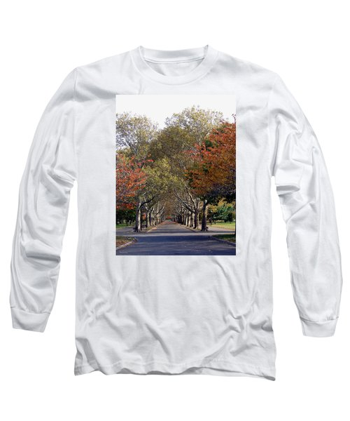 Fall At Corona Park Long Sleeve T-Shirt