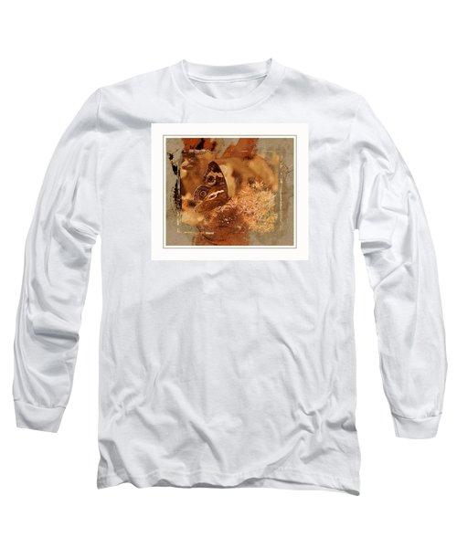 Fall Butterfly Long Sleeve T-Shirt by Karen McKenzie McAdoo