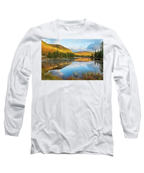 Fall By The Lake Long Sleeve T-Shirt