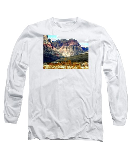 Fall Color In The Winter Season Long Sleeve T-Shirt