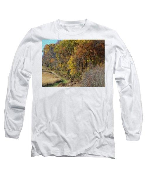 Fall Colors As Oil Long Sleeve T-Shirt