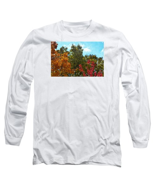 Long Sleeve T-Shirt featuring the photograph Fall Colors by Nikki McInnes