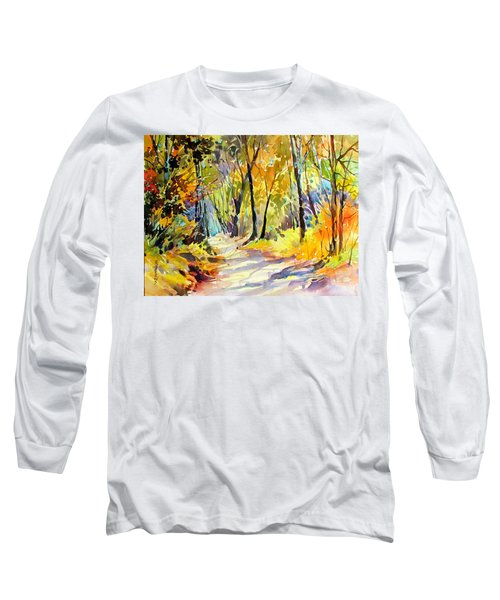 Fall Dazzle, Tennessee Long Sleeve T-Shirt by Rae Andrews