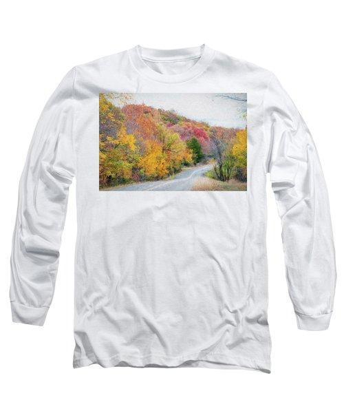 Fall In Southern Oklahoma Long Sleeve T-Shirt