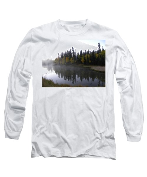 Kiddie Pond Fall Colors Divide Co Long Sleeve T-Shirt