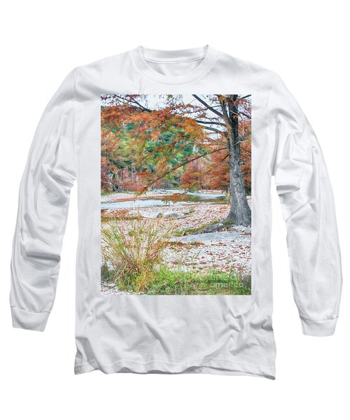 Fall In Texas Hills Long Sleeve T-Shirt