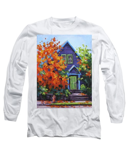 Fall In The Neighborhood Long Sleeve T-Shirt