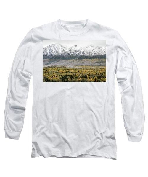 Fall In Wrangell - St. Elias Long Sleeve T-Shirt