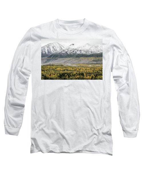 Fall In Wrangell - St. Elias Long Sleeve T-Shirt
