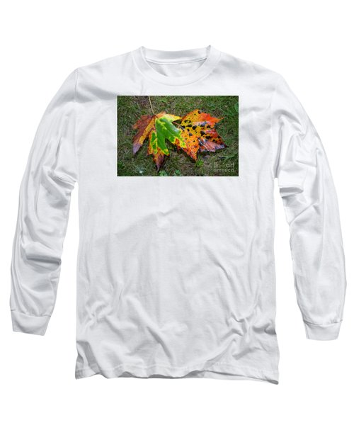 Long Sleeve T-Shirt featuring the photograph Falling For You by Lew Davis