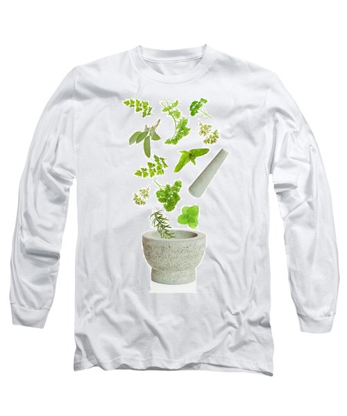 Falling Herbs Long Sleeve T-Shirt