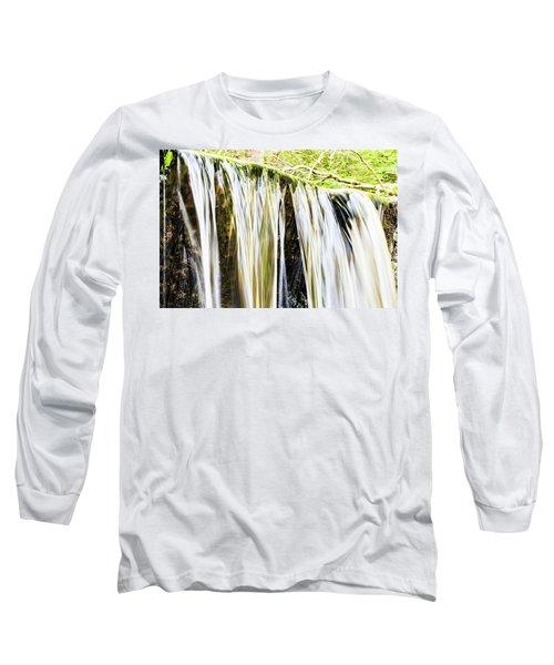 Falling Water Mirror Long Sleeve T-Shirt