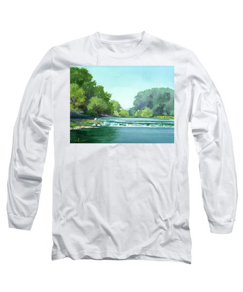 Falls At Estabrook Park Long Sleeve T-Shirt