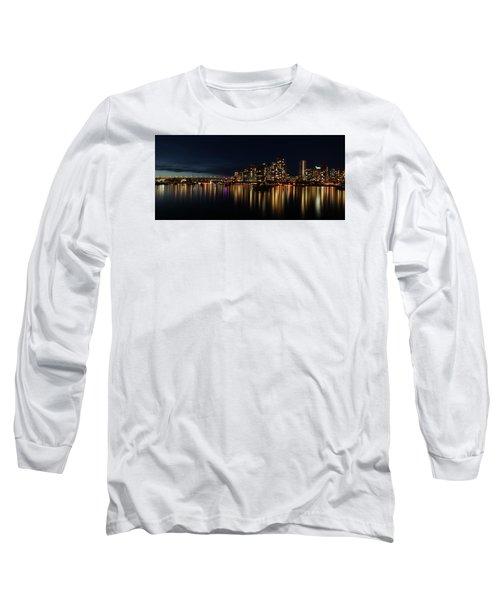 False Creek Reflections Long Sleeve T-Shirt