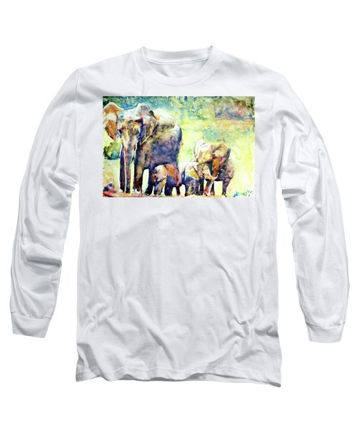 Familial Bonds Long Sleeve T-Shirt