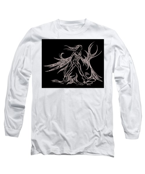 Fancy Flight  Long Sleeve T-Shirt by Jamie Lynn