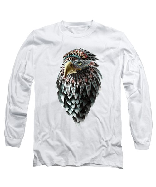 Fantasy Eagle Long Sleeve T-Shirt by Sassan Filsoof