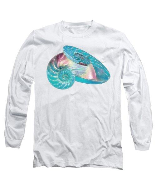 Fantasy Seashells Entwined Long Sleeve T-Shirt