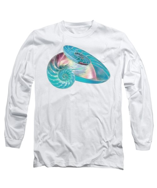 Fantasy Seashells Entwined Long Sleeve T-Shirt