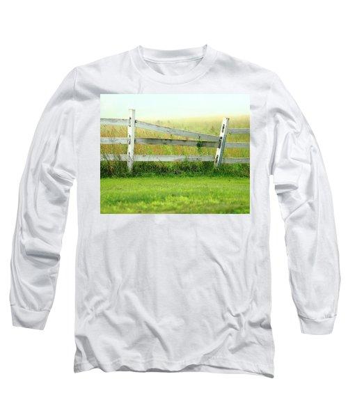Farm Fence Long Sleeve T-Shirt