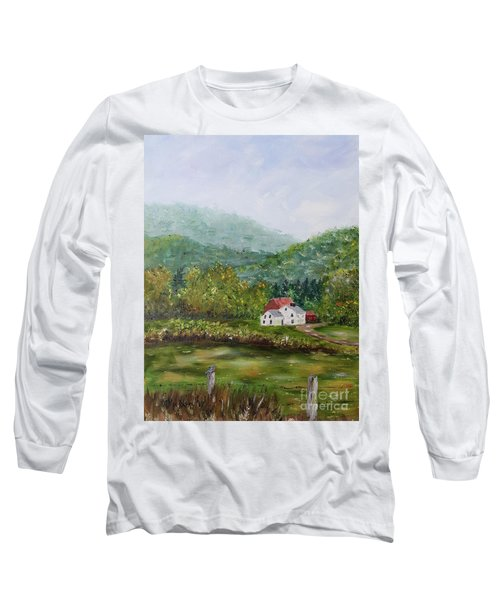 Farm In The Valley Long Sleeve T-Shirt
