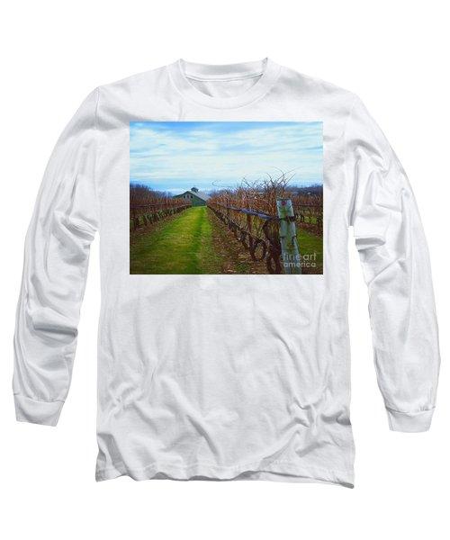 Long Sleeve T-Shirt featuring the photograph Farm by Raymond Earley